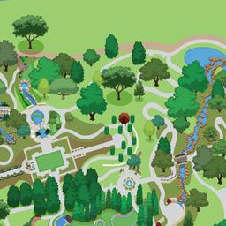 Garden Map | Dallas Arboretum and Botanical Garden on