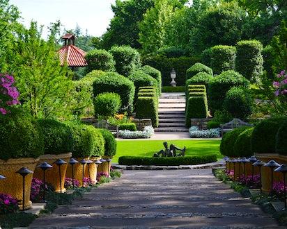 Mccasland Sunken Garden Dallas Arboretum And Botanical Garden
